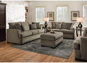 Lacey Grey Loveseat
