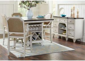 Landon 7PC Kitchen Island Pkg