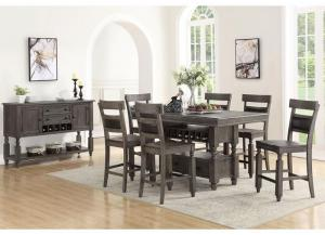 Stony Point 8PC Dining Package