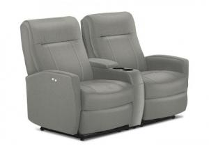 Roby II Pwr Recliner Loveseat Smoke