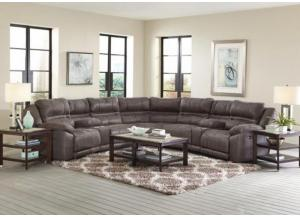 Image for Felicia 6 Pc Sectional Charcoal Grey