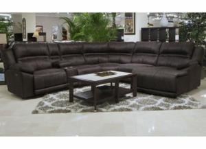 Image for Felicia 6 Pc Sectional Dark Chocolate