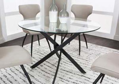 Image for Alina 5PC Dining Pkg Taupe
