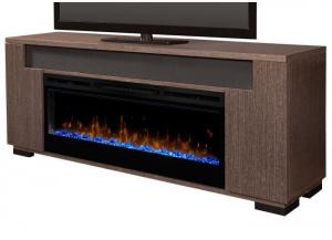 Hayden Fireplace Pkg Rift Grey