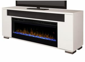 Hayden Fireplace Pkg White