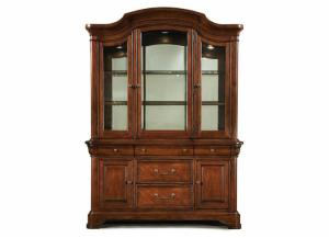 VIilla Grand China Cabinet Pkg