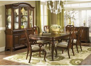 Villa Grand 8PC Dining Romm Pkg