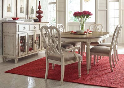 Rosetta 8PC Dining Room Pkg