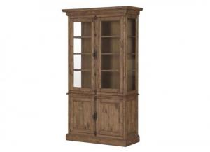 Harper China Cabinet Weathered