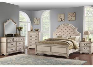 Chavelle 4PC KG Bedroom Pkg