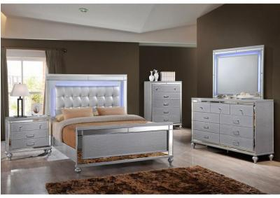 Nadine 4PC Kg Bedroom Pkg