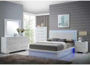 Image for Nicole 4PC Kg Bedroom Pkg