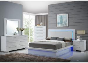 Nicole 4PC QN Bedroom Pkg
