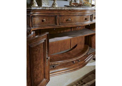 Cortina II Credenza W/Marble top
