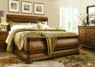 Crawford King Bed