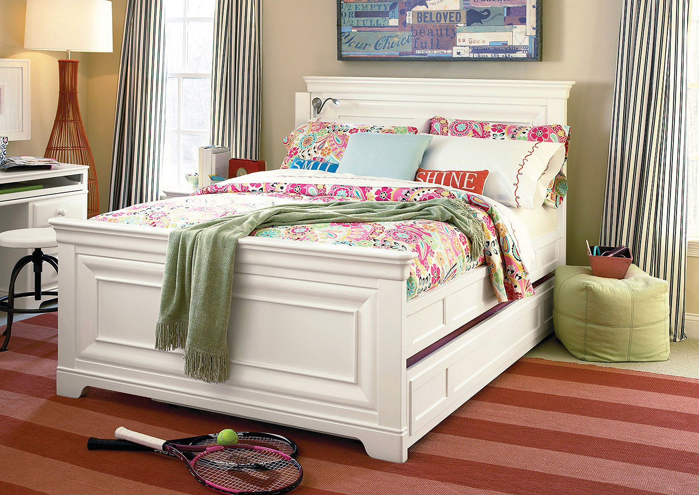 Rylie 4PC Full Bedroom Pkg White