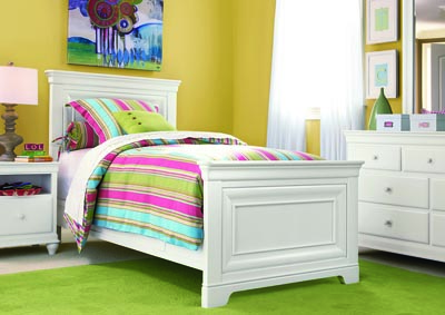 Rylie Twin Bed White