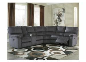 Marco 3PC Sectional Charcoal