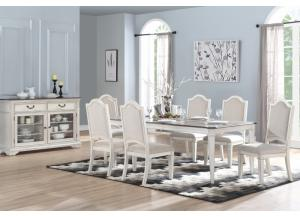 Chavelle 8PC Dining Room Pkg