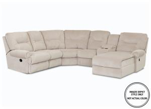 Winston IIII 5PC Sectional emp ash