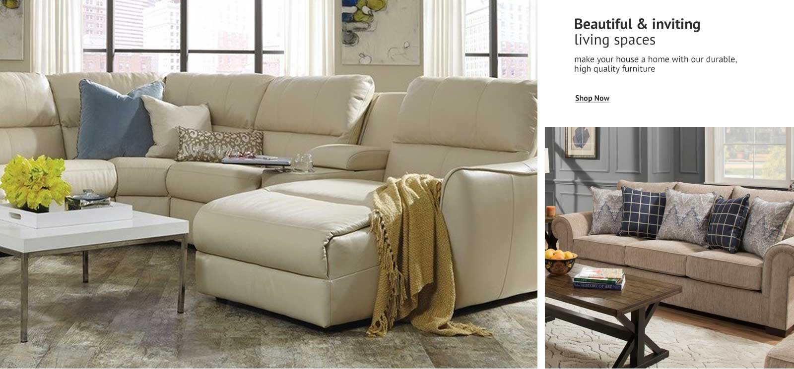 Living Room Furniture homepage banner