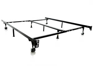 King Metal Frame with Middle bar support