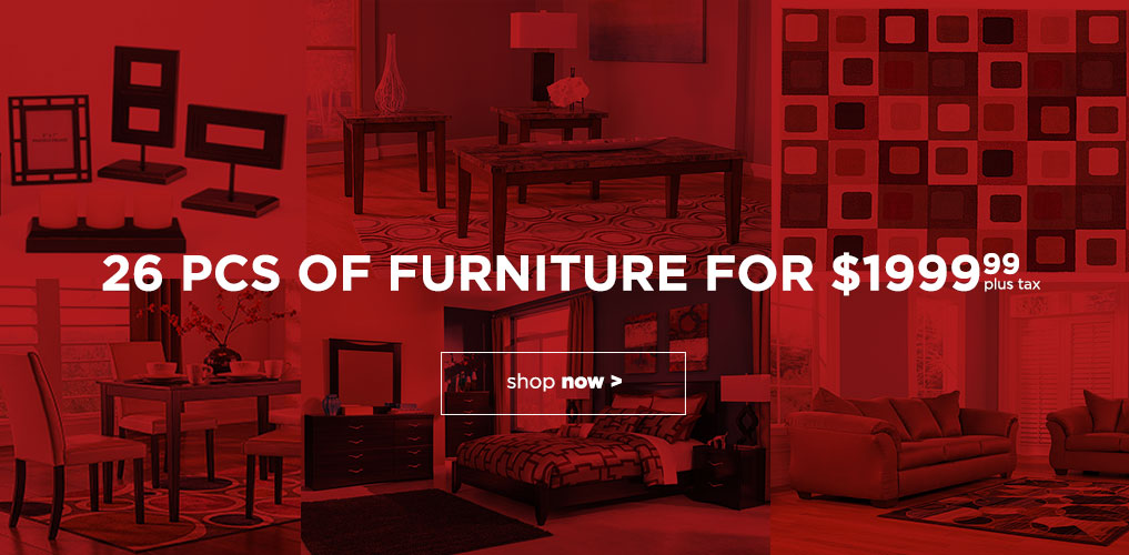 26 Pc of Furniture Special