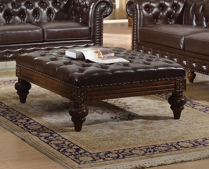 Surprising Irving Blvd Furniture Shantoria Dark Brown Bonded Leather Pdpeps Interior Chair Design Pdpepsorg
