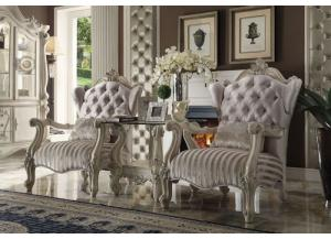 Versailles Ivory Accent Chair