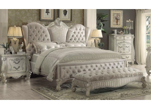 VERSAILLES IVORY E. KING SIZE BED