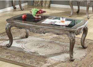 Chantelle Antique Platinum Coffee Table
