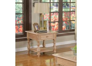 Shantoria Elegant Wood End Table