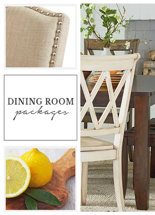 Dining Room Designer Packages
