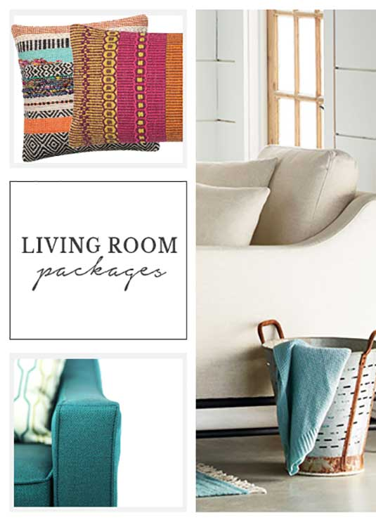 Living Room Designer Packages