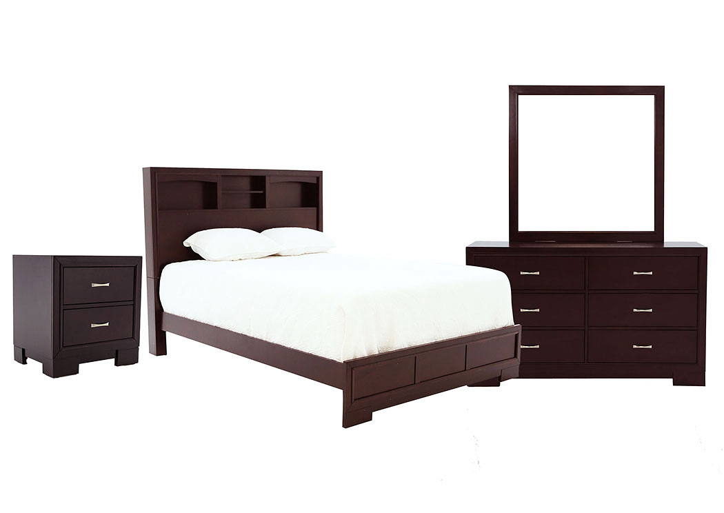WEBSTER FULL BEDROOM SET,LIFESTYLE FURNITURE