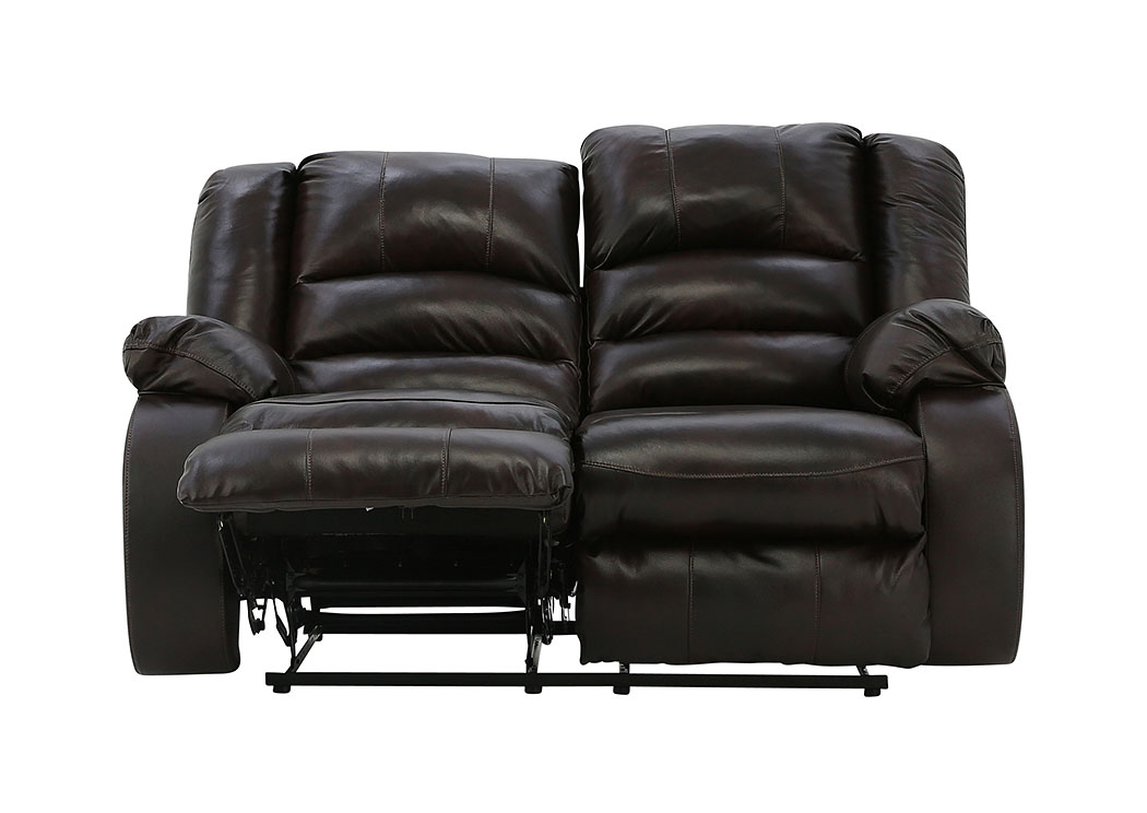 LEVELLAND CAFE LEATHER RECLINING LOVESEAT,ASHLEY FURNITURE INC.