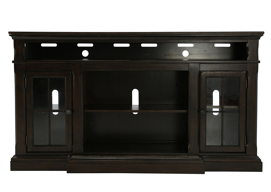 RODDINTON EXTRA LARGE TV STAND WITH FIREPLACE OPTION,ASHLEY FURNITURE INC.