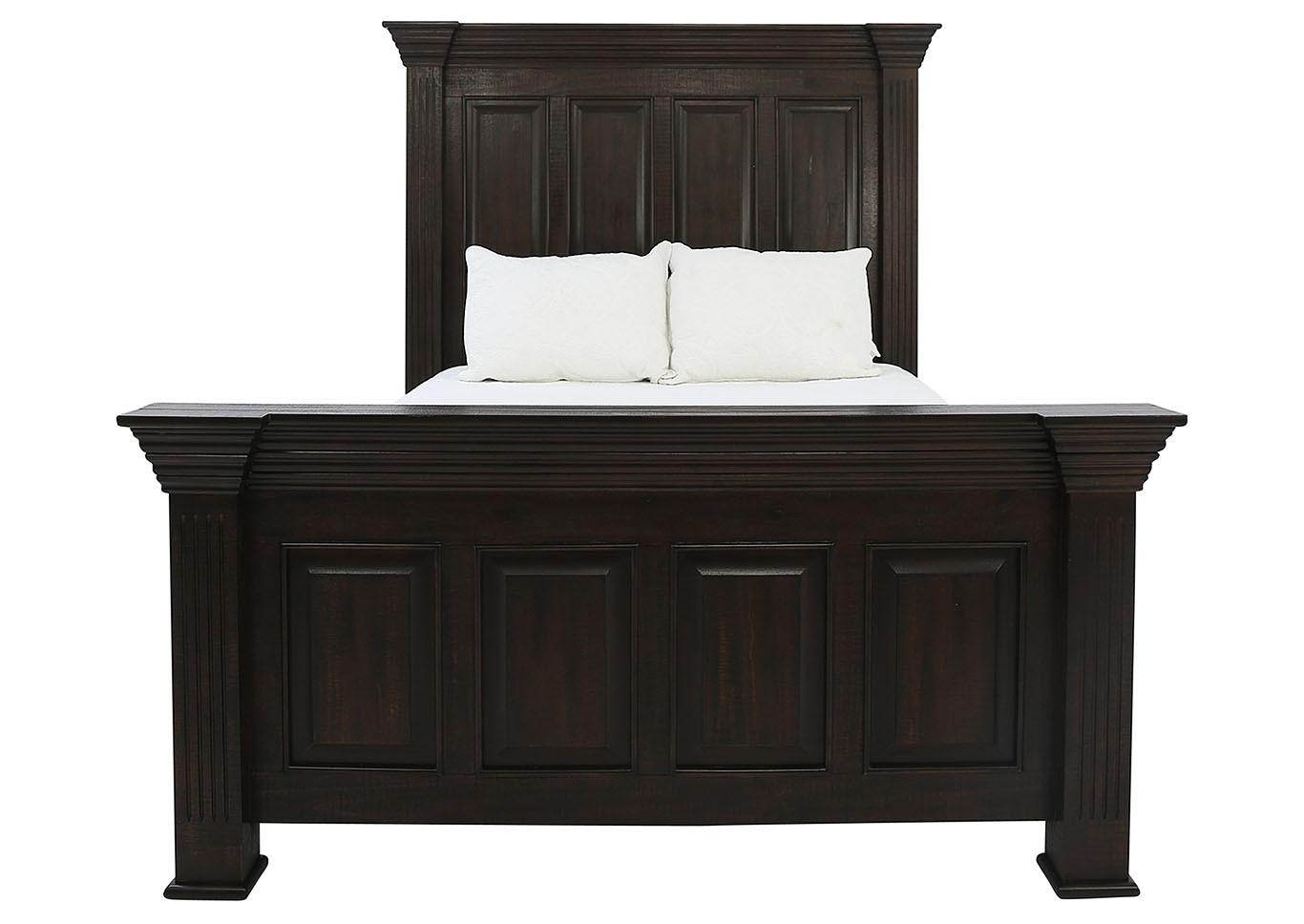 ROSLINDALE TOBACCO QUEEN PANEL BED,LIFESTYLE FURNITURE