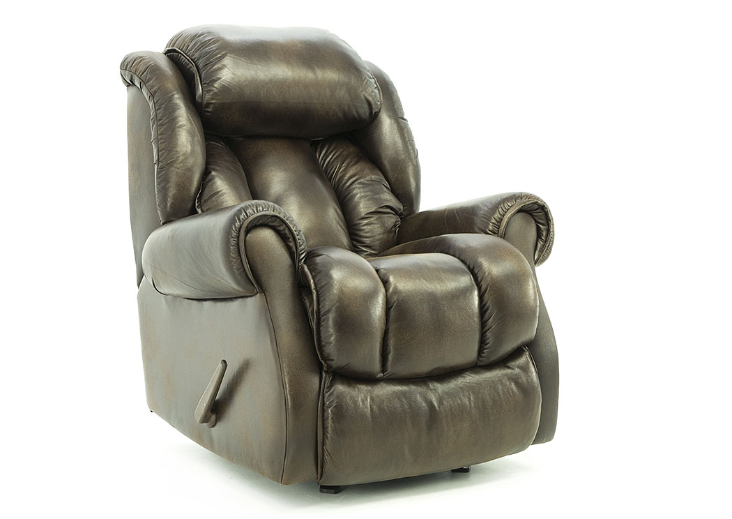 Terrific Ivan Smith Ryker Espresso Rocker Recliner Caraccident5 Cool Chair Designs And Ideas Caraccident5Info