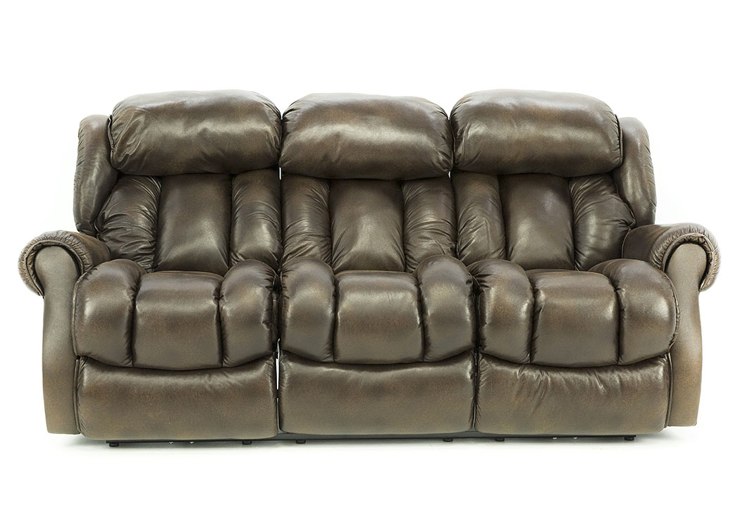 RYKER ESPRESSO POWER RECLINING SOFA,HOME STRETCH