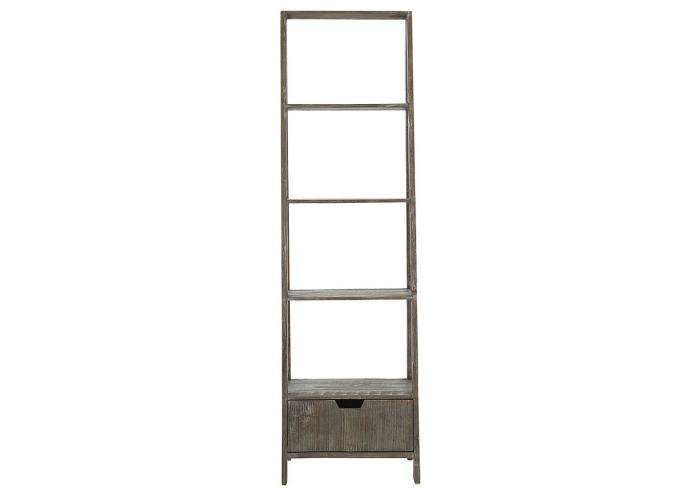 Ivan Smith Ladder Bookcase Barnwood