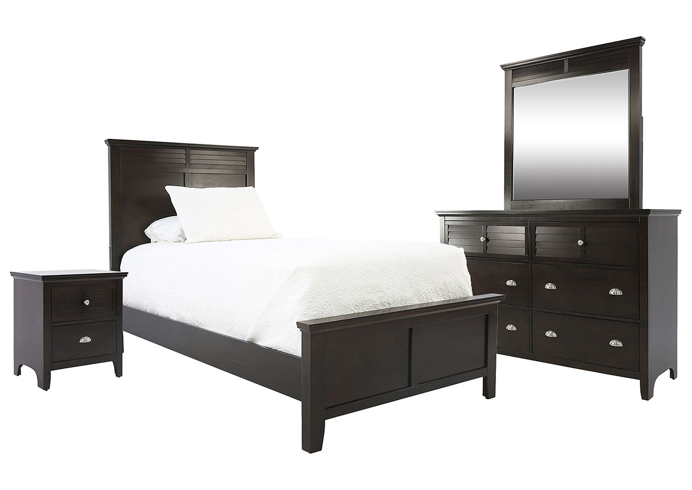 SPENCER BROWN TWIN  BEDROOM SET,LIFESTYLE FURNITURE