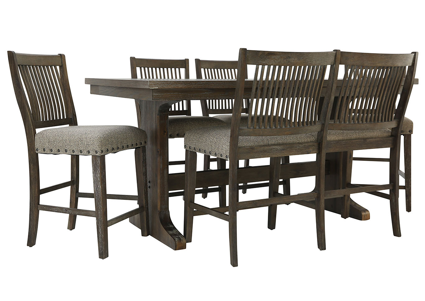 Counter Height Dining Set 6 Piece