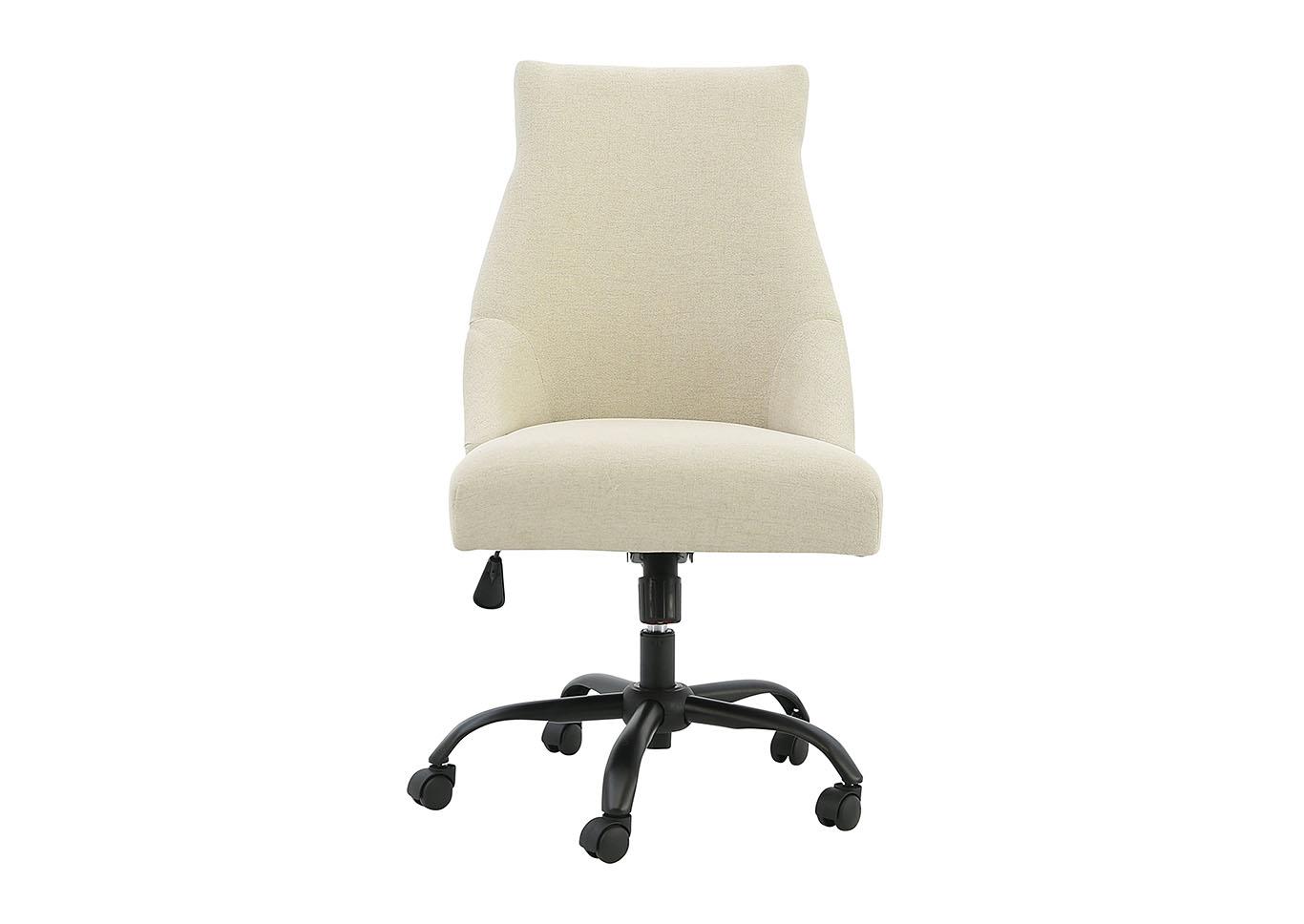 Office Chair Program Linen Home Office Swivel Desk Chair Ivan Smith
