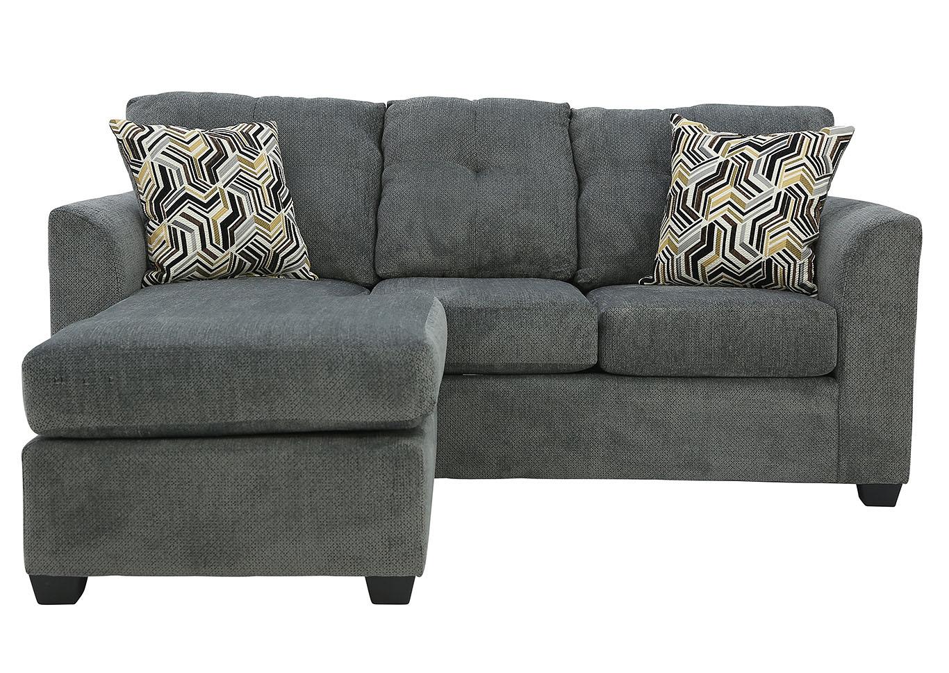 Magnificent Ivan Smith Kelly Gray Sofa Chaise Inzonedesignstudio Interior Chair Design Inzonedesignstudiocom
