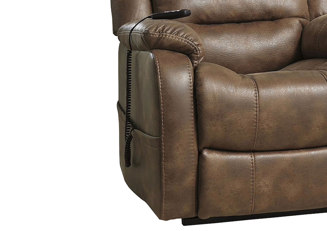 Pleasing Ivan Smith Yandel Saddle Power Lift Recliner Interior Design Ideas Inesswwsoteloinfo