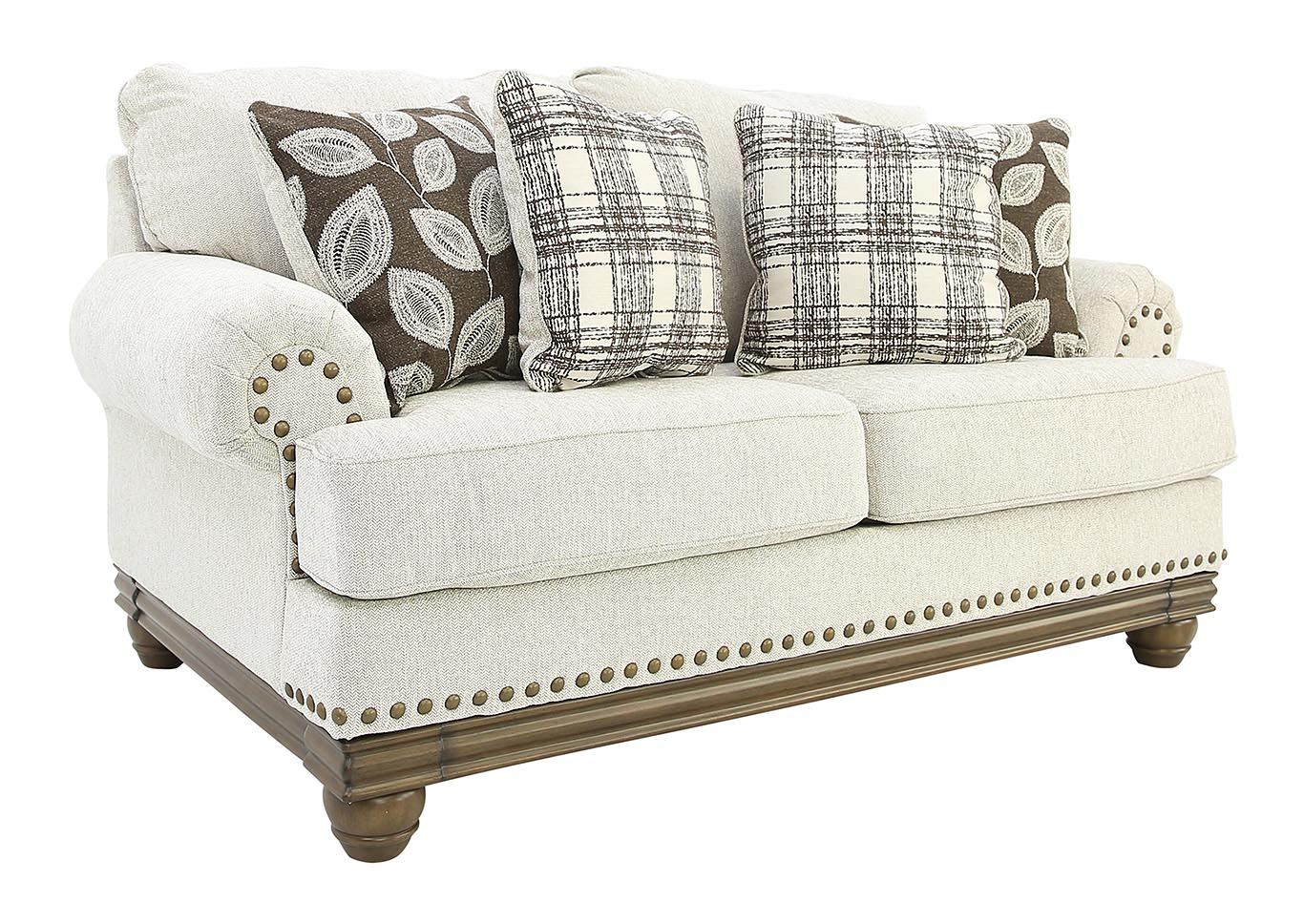 Enjoyable Ivan Smith Harleson Wheat Loveseat Machost Co Dining Chair Design Ideas Machostcouk