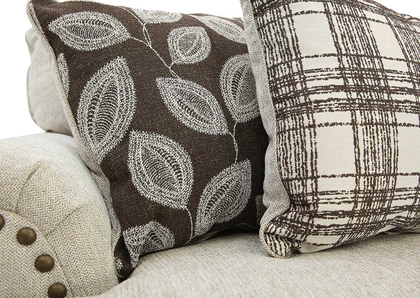 Magnificent Ivan Smith Harleson Wheat Loveseat Machost Co Dining Chair Design Ideas Machostcouk