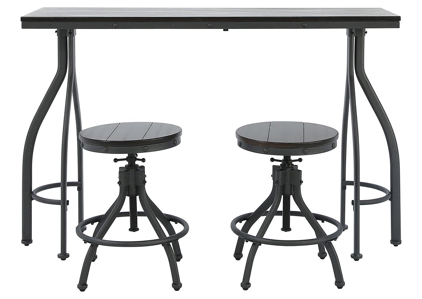 Super Ivan Smith Odium 3 Piece Pub Dining Set Andrewgaddart Wooden Chair Designs For Living Room Andrewgaddartcom