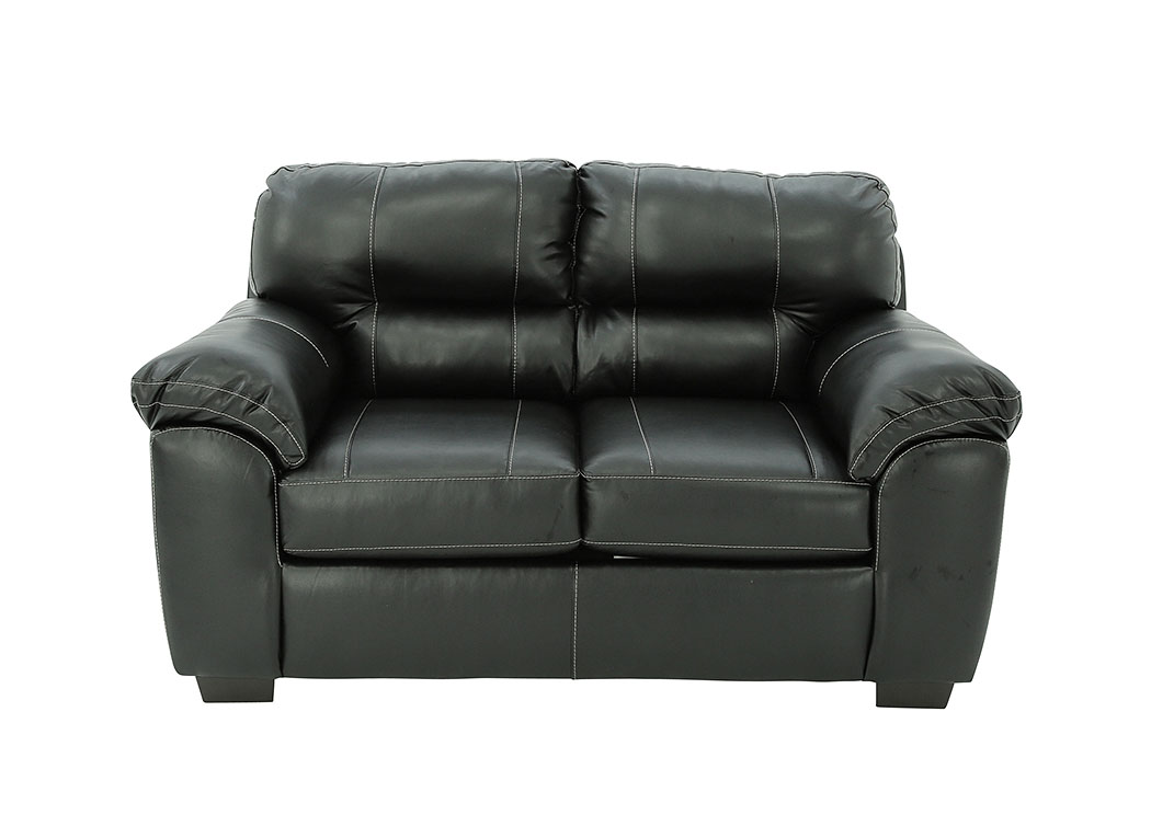Swell Ivan Smith Austin Black Loveseat Pdpeps Interior Chair Design Pdpepsorg